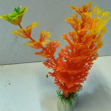 Plastic Grass Plant for Aquarium Colored (small)