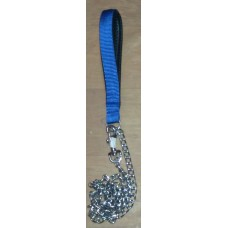 Chain Dog Leash With Nylon Handle (Small)