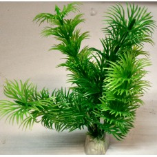 Plastic Grass Plant for Aquarium Green (small)