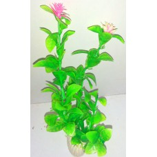 Plastic Grass Plant for Aquarium Green (medium)