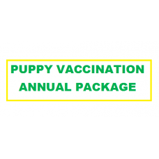 Puppy Vaccination Annual Package