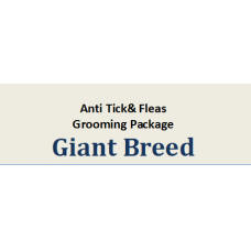 Grooming + Hair Clipping Package Giant Breed