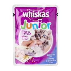 Whiskas Junior Mackerel Pouch (85g)