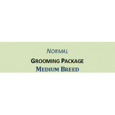 Grooming + Hair Clipping Package Medium Breed