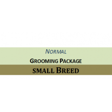 Grooming + Hair Clipping Package Small Breed