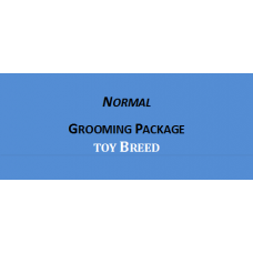 Grooming + Hair Clipping Package Toy Breed