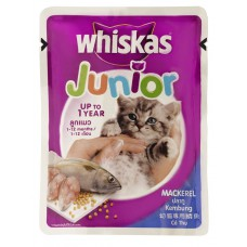 Whiskas Junior Cat Food Mackerel (85 gm)