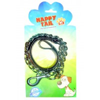 Happy Tail Leather Chain ..