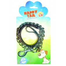 Happy Tail Leather Chain Leash