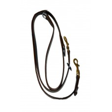 Happy Tail Multipurpose Leather Leash ( 2 Cm )