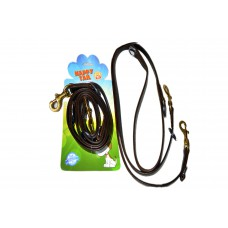 Happy Tail Multipurpose Leather Leash ( 2 Cm)
