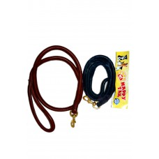 Happy Tail Round Leather Leash