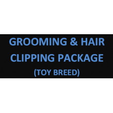Grooming & Hair Clipping For Toy Breed