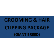 Grooming & Hair Clipping For Giant Breed