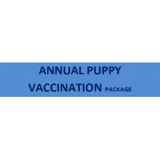Annual Puppy Vaccination Package
