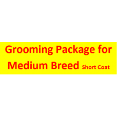 Grooming Package For Medium Short Coat  Breed