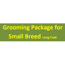 Grooming Package For Small Long Coat Breed
