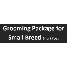 Grooming Package For Small Short Coat  Breed