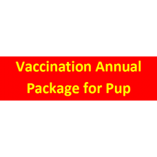 Vaccination Annual Package for Puppy
