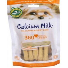 Basil Calcium Milk Chewy Bone (90 gm)