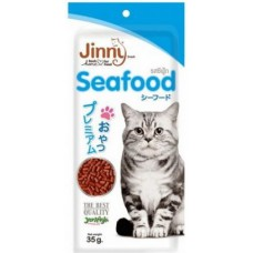 Jerhigh Jinny Seafood Cat Food (35 Gm)