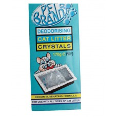 Pets Brand Deodorizing Tray Crystals (170 gm)