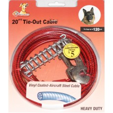 Small Dog Tie Out Cable