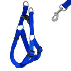 Dog Leash And Harness Plain (size 1.25inch)