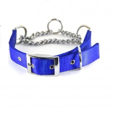Dog Choke Collar Chrome Plated (size - 1.25 inch)