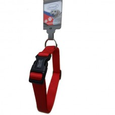 Basil Dog Collar Red (medium size)