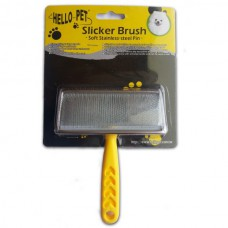 Hello Pet Dog Slicker Brush (Medium Size)
