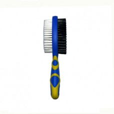 Hello Pet Double Side Bristle Hair Brush (Medium Size)