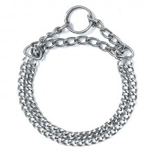 Karlie Double Choke Chain Collar (2mm-40cm)