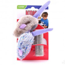 KONG Purple Mouse & Frosty Mouse Cat Toy