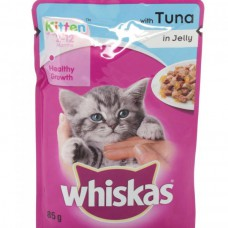 Whiskas Junior Tuna Jelly Cat Food