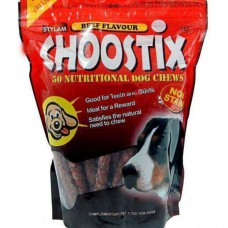 Choostix Beef Flavored Dog Treat