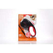 Cozy Grip Retractable Cord Dog Leash (medium size)