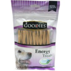 Goodies Liver Twisted Dog Energy Sticks (200 Gm)