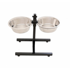 Adjustable Feeder Bowl Stand-Medium
