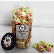 Assorted Dog Biscuits (1 Kg Jar)