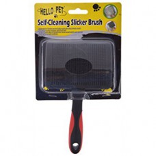 Dog & Cat Hair self clining slicker brush M