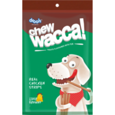 Drools Chew Wacca Real Chicken Strips (150 Gm)