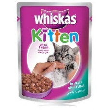 WHISKAS GRAVY KITT TUNA IN JEL ( 85 GM )