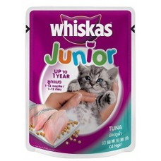 Whiskas Junior Tuna Cat Food ( 85 gm )