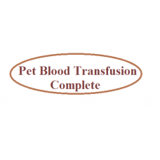 Pet Blood Transfusion Complete