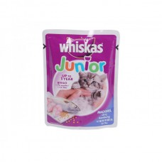 Whiskas Junior Mackerel Jelly ( 85 gm )