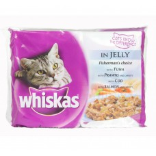 Whiskas In Jelly Multi Pouches (400 gm)