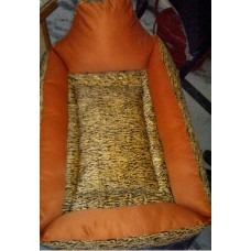 Pet Bedding with Cushion Rectangular shaped