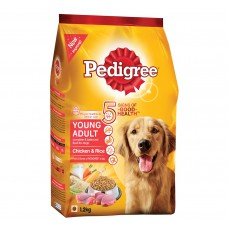 Pedigree young adult chicken & rice 1.2 kg