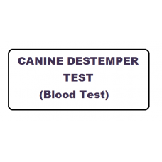 Canine Distemper Test - CDT (Elisa Based)